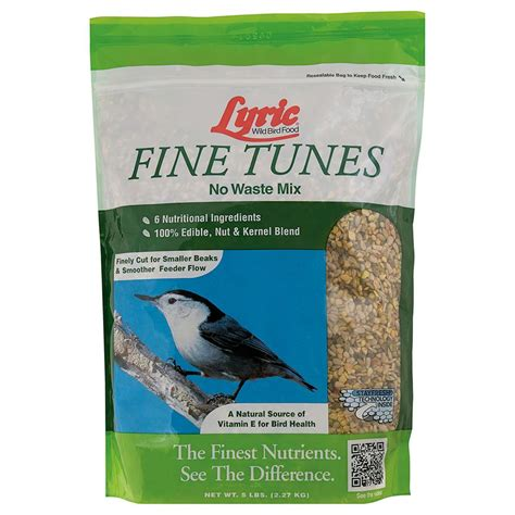 lyric 5 lbs fine tunes no waste bird seed mix 2647411