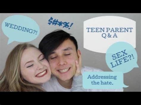Teen Parent Q&a  Sex Life, Wedding, Finances Youtube