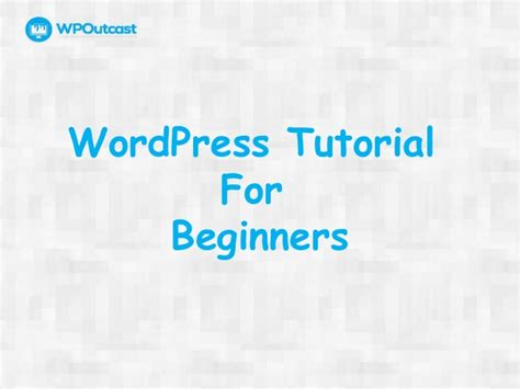Wordpress Tutorial wordpress tutorial  beginners 638 x 479 · jpeg