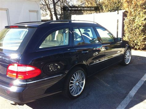 My dealer is telling me late september for an e320 4matic wagon. 2004 Mercedes - Benz E320 4matic Wagon 4 - Door 3. 2l