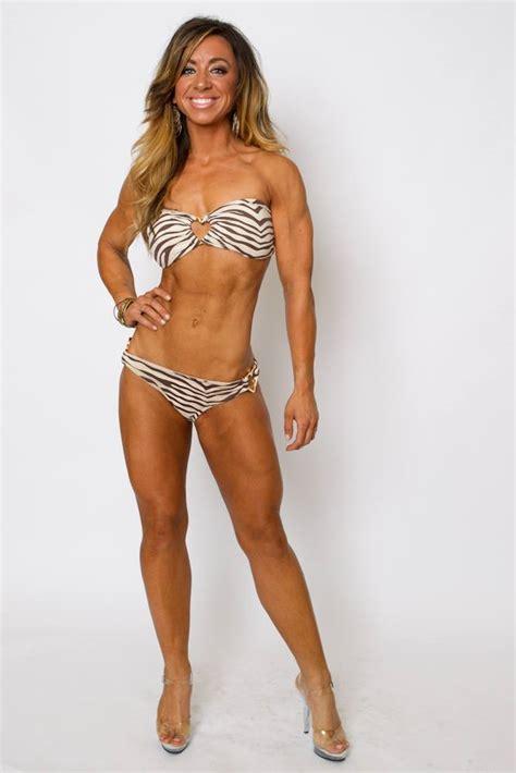 fitness bikini hot bikini competition training hot fitness model shape