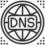 Icon Dns Hosting Domain Marketing Icons Editor