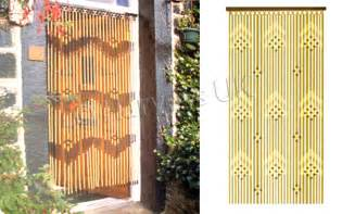 provence beaded wooden bead door curtain 180 x 90cm mix ebay