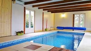 maison normande avec piscine interieure chauffee la noe With location maison avec piscine normandie