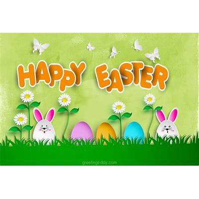 TOP-5 greetings Happy Easter eCards. Click and share