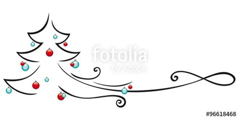 quot weihnachtsbaum geschm 252 ckt grafik quot stockfotos und