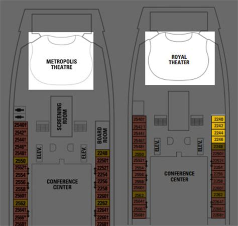 navigator of the seas deck plan changes coming in 2014 royal caribbean