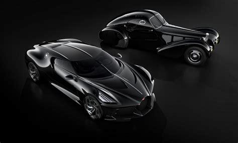 ginebra  la voiture noire de bugatti es el vehiculo