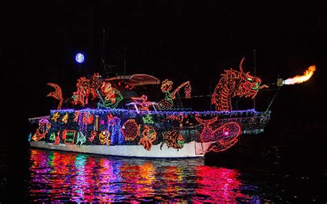 Newport Beach Annual Boat Parade by Local Orange County Events For December 2017 South
