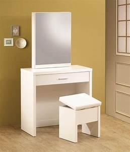 Coiffeuse Noir Et Blanche : meuble coiffeuse en blanc et en d autres couleurs 30 id es ~ Teatrodelosmanantiales.com Idées de Décoration