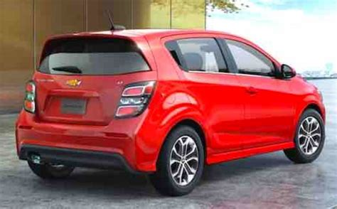 Chevy Sonic Ground Clearance by 2019 Chevy Sonic Redesign Release Date And Price