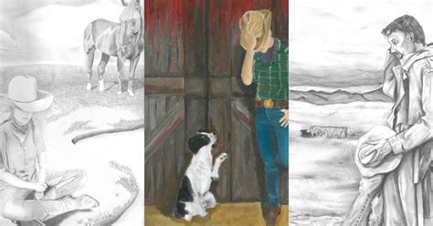 students earn houston livestock show  rodeo art contest