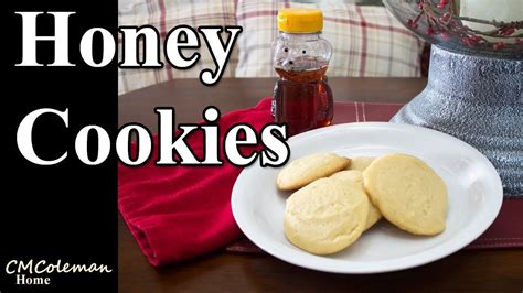 "A recipe that doesn't replace sugar with honey or loads of cream and fat. Honey ""Sugar"" Cookie Recipe (With images) 