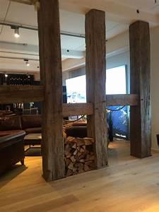 Holzbalken Als Raumteiler : raumteiler aus alten balken wohnidee frische ideen f r die wohnung pinterest raumteiler ~ Sanjose-hotels-ca.com Haus und Dekorationen