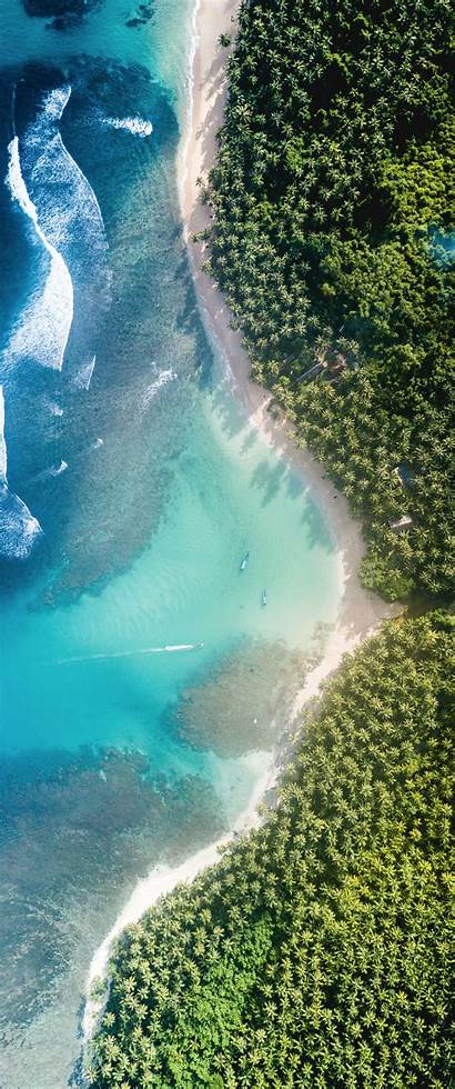 Vertical Paradise Wallpapers 1440 Aerial 2560 1080