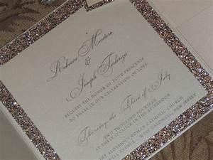 glitter wedding invitation sparkle wedding invitation With glitter wedding invitations online