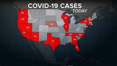 coronavirus cases emerging   states video