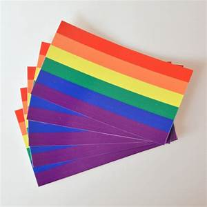 5 11 In Cm : 10pcs 6 5 11 5 cm rainbow car stickers homosexual car ~ Dailycaller-alerts.com Idées de Décoration