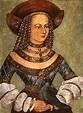 Portrait of Jadwiga Jagiellonka (Hedwig Jagiellon of ...