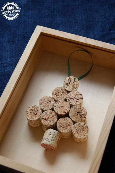 homemade ornaments     corks kids activities