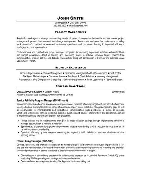 Project Manager Sle Resume Format by Pin By Cha Cha On Project Manager Resume Manager