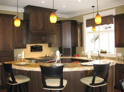 kitchen curved island islands designs seating kitchens cabinet bar traditional countertop granite modern cabinets table lighting countertops sink stools tops