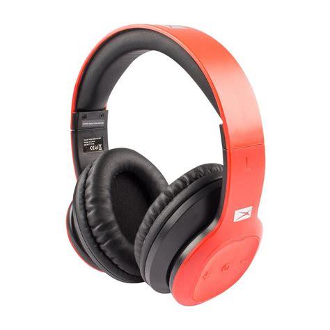 altec lansing bluetooth headphones mzw red hd  home depot