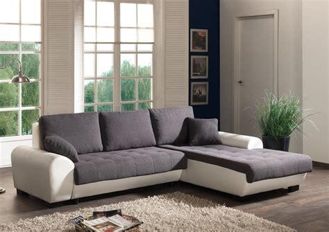 petit canapé blanc petit canapé d 39 angle convertible blanc canapé idées de