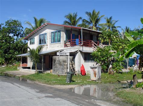 Homes in Tuvalu - Travel Photos by Galen R Frysinger ...