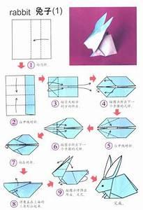 Origami Für Anfänger : origami hase falten anleitung und inspirierende ~ A.2002-acura-tl-radio.info Haus und Dekorationen