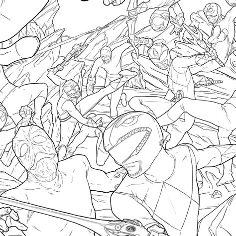 power rangers coloring book power punch command center