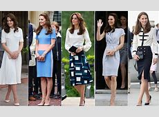 Kate Middleton's springsummer wardrobe, look by look
