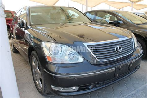 how to sell used cars 2005 lexus ls electronic toll collection used lexus ls 430 2005 784875 yallamotor com