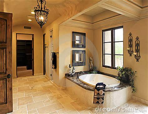 resort mansion bathroom spa royalty  stock photo