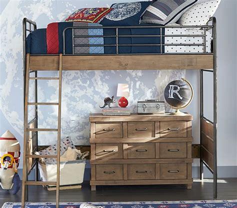 Loft Bed With Desk Pottery Barn by Owen Loft Bed Pottery Barn