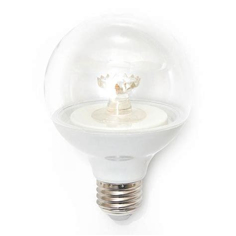 ecosmart 60w equivalent soft white g25 dimmable clear led