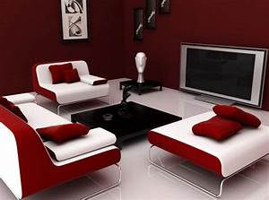 Red Living Room Ideas for Your Sexy Guest Room Home