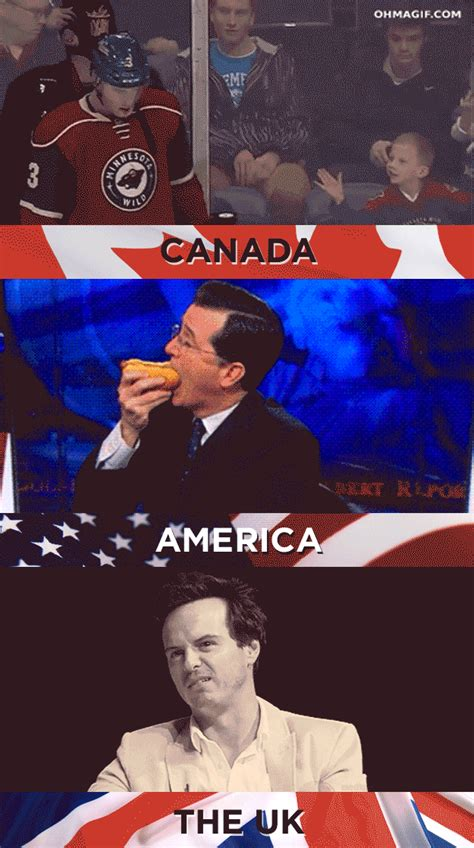 French Canadian Meme - 19 things america canada and the u k cannot agree on