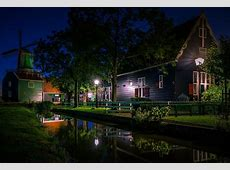 Nature Landscape Photography Garden House Windmill Canal