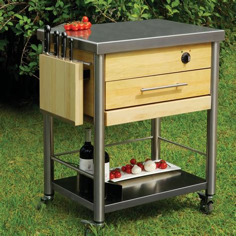outdoor grilling patio prep station modern patio outdoor