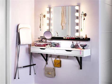 bureau maquillage les 25 meilleures idées de la catégorie rangements