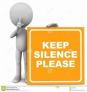 Silence Zone Royalty Free Stock Photos - Image: 30503238