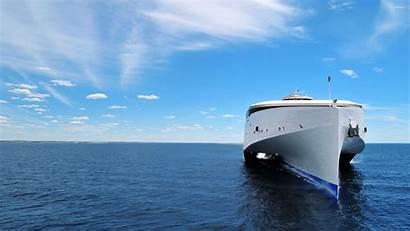 Ferry Sea