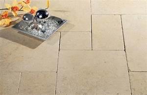 Terrassenplatten Reinigen Beton : limestone nuor terrassenplatten naturstein ~ Michelbontemps.com Haus und Dekorationen
