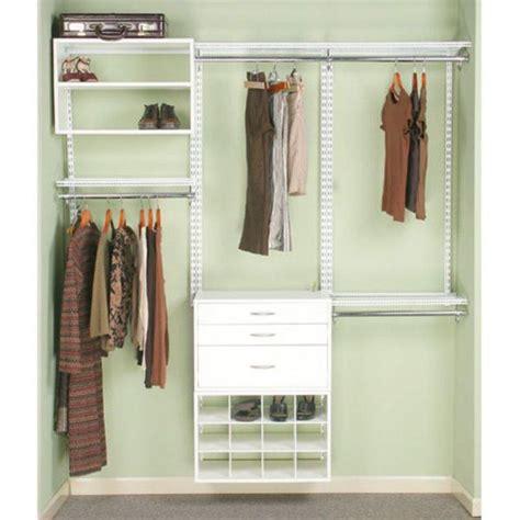 closet organization trapped in the closet