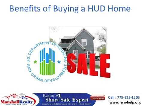 benefits of buying an home benefits of buying a hud home marshall carrasco reno nv short sal