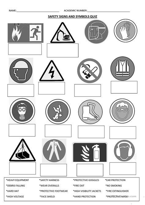 Safety Signs Worksheet  Free Esl Printable Worksheets Made By Teachers