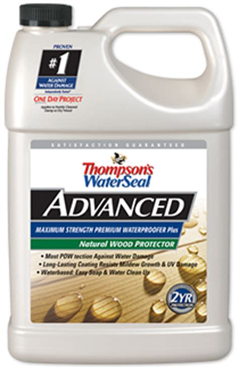 thompsons waterseal advanced natural wood protector