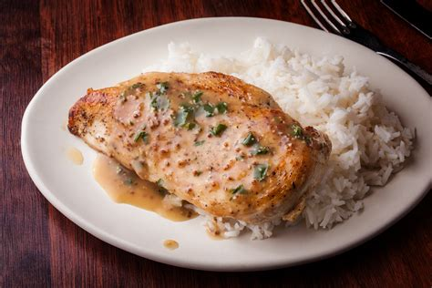 chicken breast recipes baked chicken breasts with mustard sauce recipe chow com