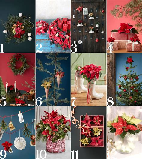 winter wedding diy decor ideas with poinsettia wedding